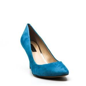 INC Zitahaqua Heel Pump Bright Aqua
